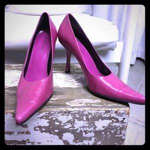 Hot pink NINE WEST pumps